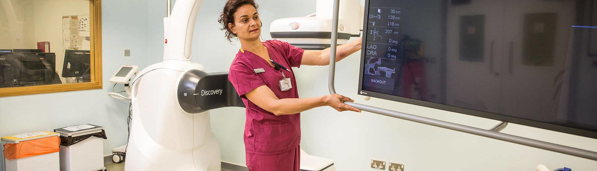 Cardiac Catheterisation Lab Setup